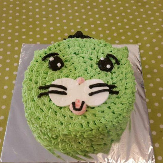 Animal Cat Cake The Sweet Recipe