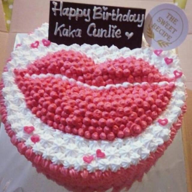 Girly Lips Cake The Sweet Recipe
