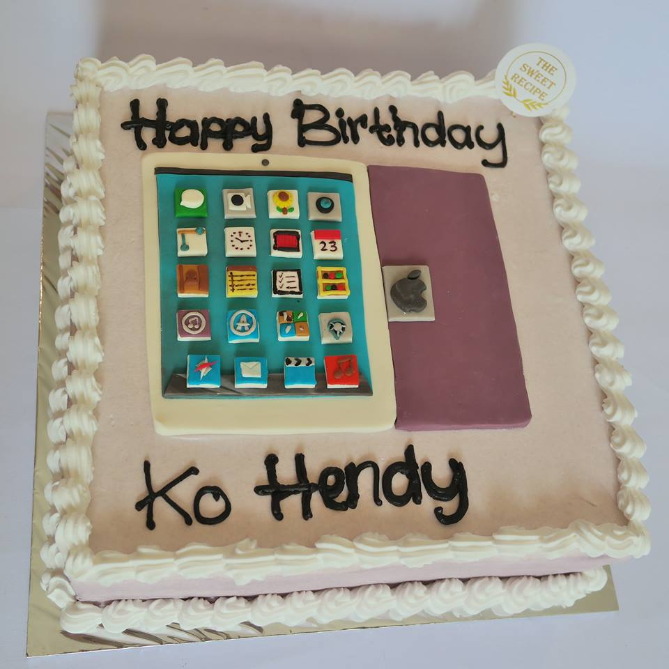 Square Iphone Cake The Sweet Recipe